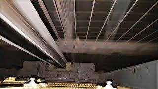 W szoli / In the mine shaft cage