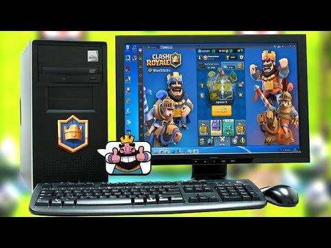 Как играть в Clash Royale на компьютере