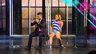 Дарья Салей и Станислав Литвинов Хип хоп Фанк. Шоу танцуй на пером