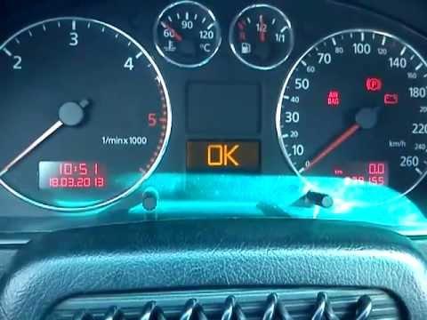Kasowanie Komunikatu O Inspekcji Serwisowej W Audi A4 B5 Z