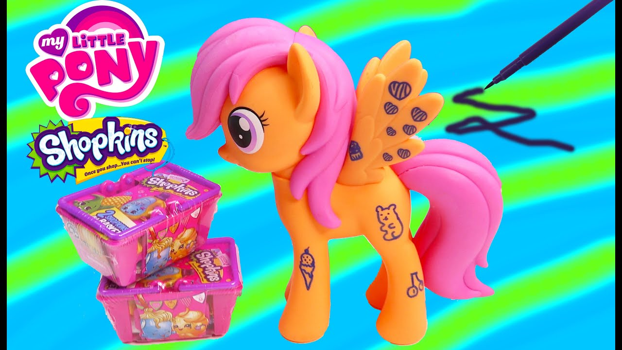 Mlp Design A Pony Scootaloo Pegasus My Little Pony Wild Rainbow Shopkins Blind Bags Review Craft Toy Youtube Her toy debut came in 2005 as one of the scootin' along ponies. youtube