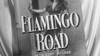 Flamingo Road (1949) title sequence