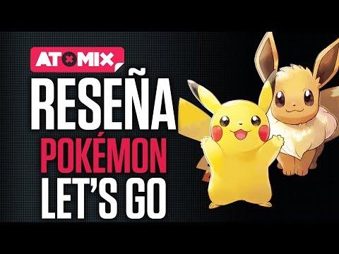 Reseña – Pokémon: Let's Go Pikachu! y Pokémon: Let's Go Eevee!