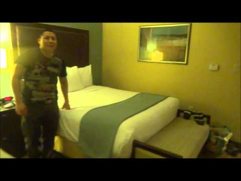 Hotel room tour at Harrahs resort and casino in Atlantic City, NJ!!!