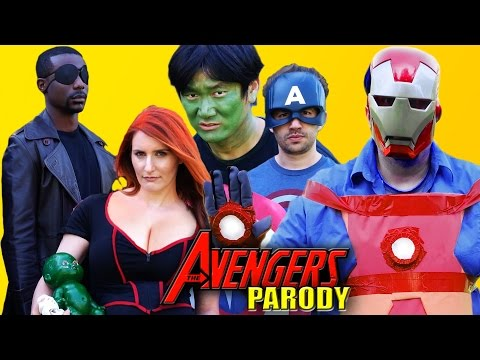 AVENGERS : Age of Ultron Parody