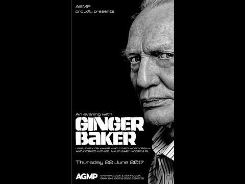 Ginger Baker @ 229 The Venue, London 22 June 2017
