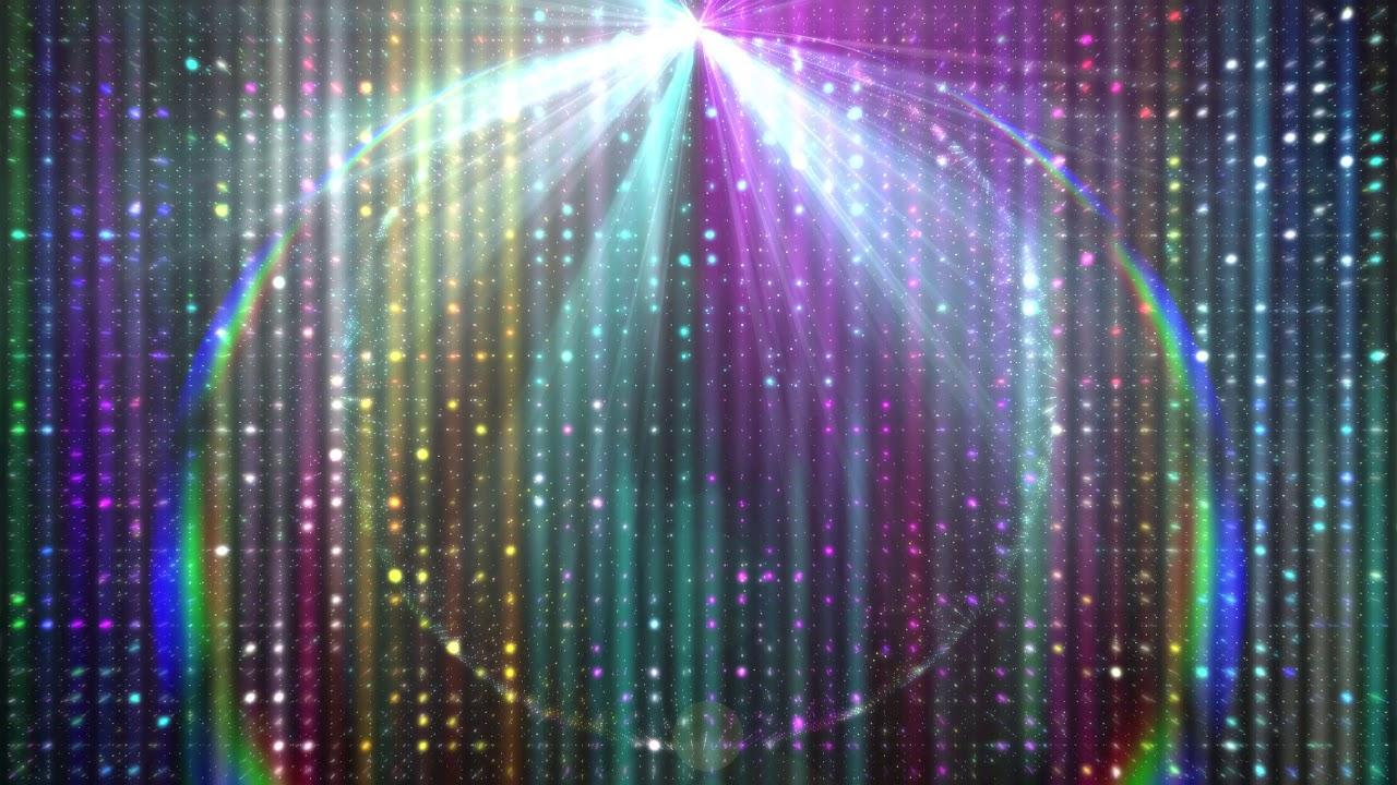 4k Rainbow Matrix Flare Moving Background Aavfx Live Wallpaper