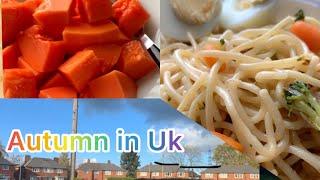 #Autumn#ukweather#spaghetti  Mix veg spaghetti recipeautumn in uk
