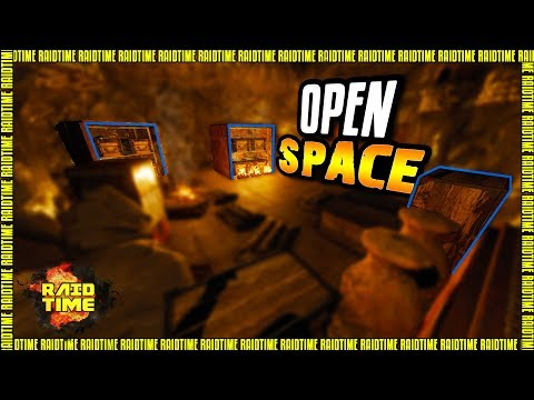 Rust Raid: OPEN SPACE | Sealed cave base!! [CZ/SK]