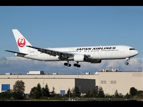Japan Airlines Business Class (Class J) - Tokyo (Haneda) to Hakodate (JL 585) - Boeing 767-300