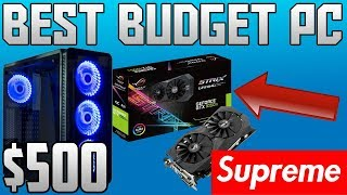 THE BEST BUDGET PC TO BUILD IN 2018