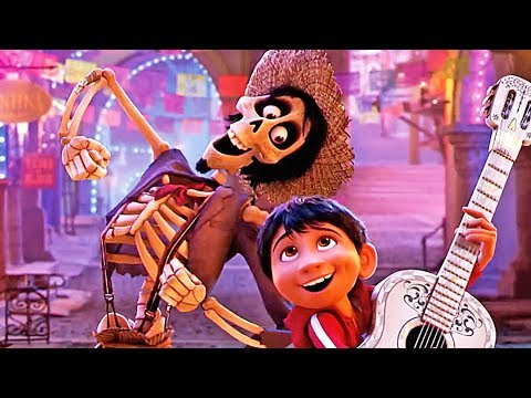 Coco - No Music | official FIRST LOOK clip & trailer (2017)