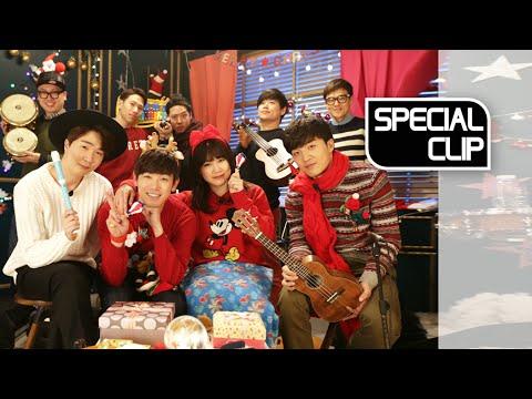 [Christmas Special Clip]Park Jimin(박지민),YOON HYUN SANG(윤현상),Eric Nam(에릭남),Jaywon Jung(정재원)Carol Live