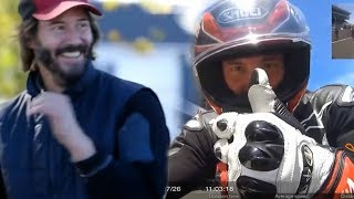 Keanu Reeves  - funny moments (behind the scenes)
