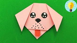 Basteln mit papier: Hund falten| Diy Bastelideen