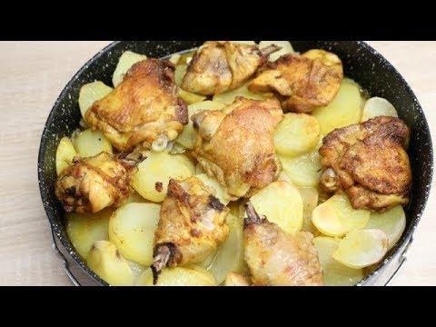 fricassÉ-de-poulet-aux-pommes-de-terre-facile-(cuisine-rapide)