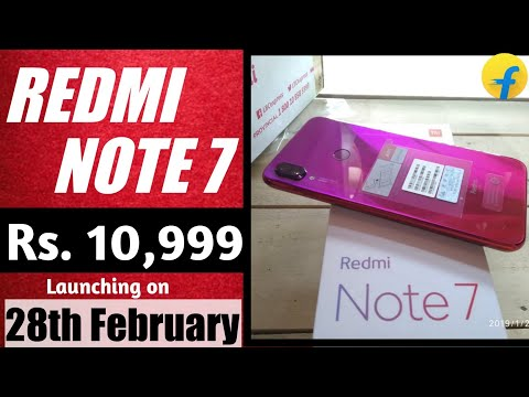 Redmi Note 7 Launch date Confirmed officially in India| 28th Feb, Specification & Price. Mp3