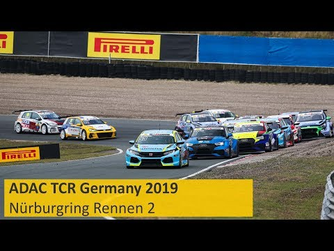 ADAC TCR Germany Rennen 2 Nürburgring 2019 Re-Live Deutsch