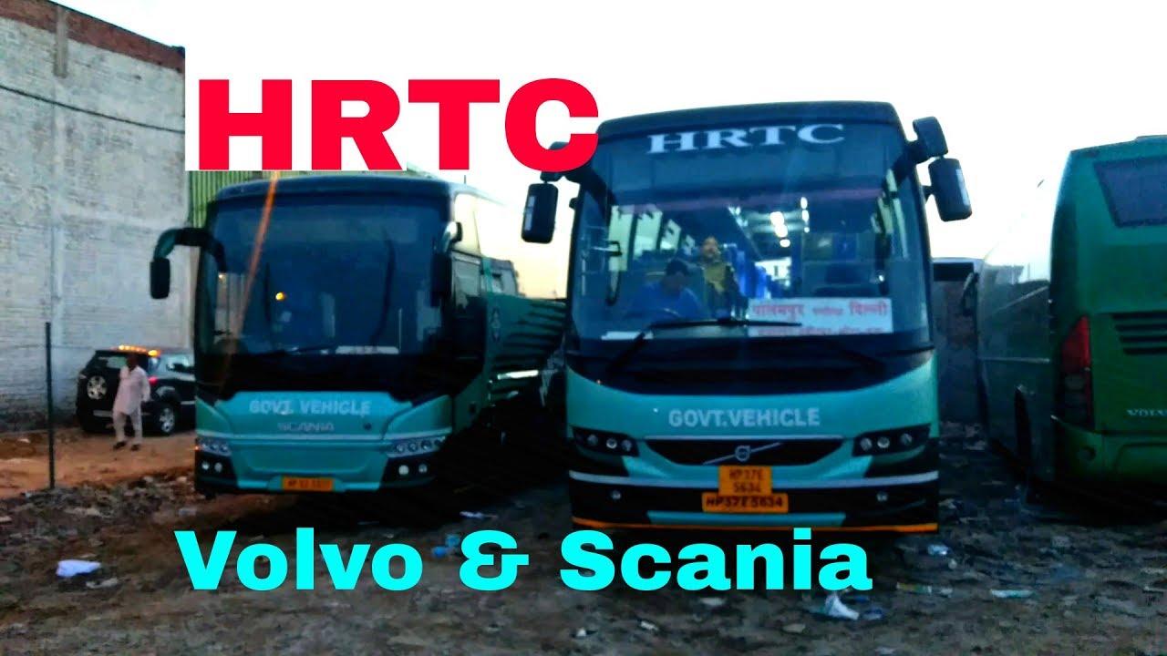 HRTC's Volvo & Scania | 🙂 | ↘️↘️↘️↘️ - YouTube