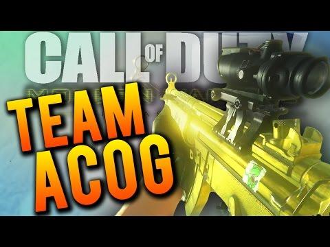 ACOG SQUAD! - CoD 4 Modern Warfare Remastered