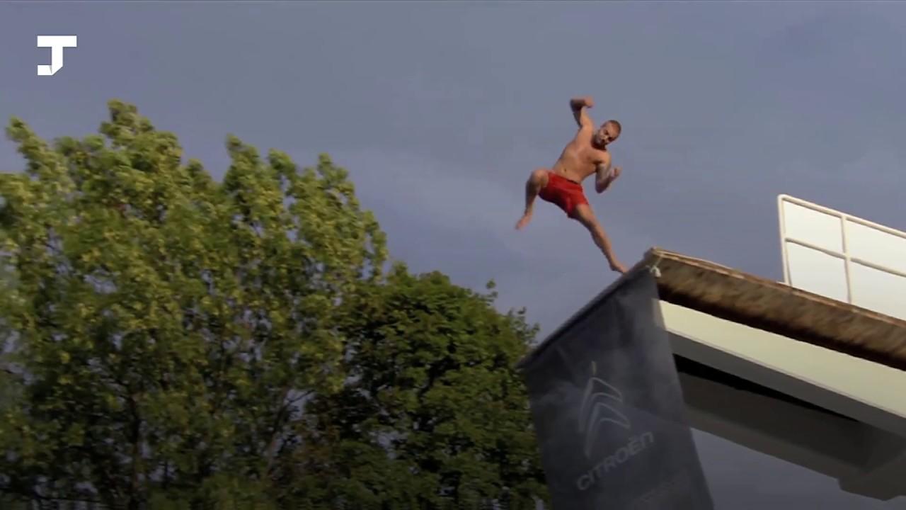 В Норвегии прошёл чемпионат по «смертельным» прыжкам в воду