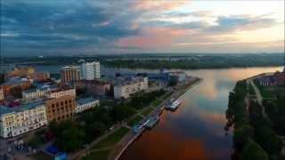 Нереально красивый город, Омск - город сад !!!