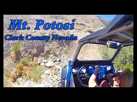 Mt Potosi, Clark County, Nevada In HD
