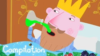 Ben and Holly's Little Kingdom |  King&Queen Thistle | 1 Hour Compilation | HD Cartoons for Kids