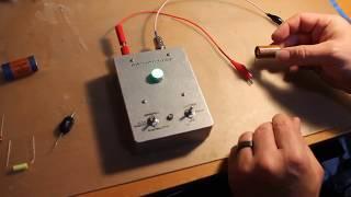 Carlsons   Ultra Sensitive Forecasting Capacitor Leakage Tester Build
