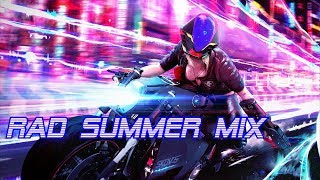 RAD Summer Mix | Best of Synthwave And Retro Electro Mix
