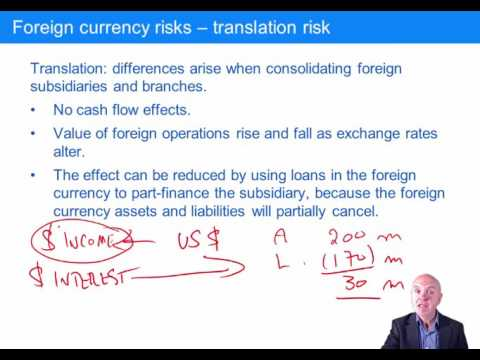10 1 CIMA P3 Foreign currency risk