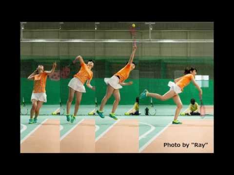 AKB48 佐藤朱のテニス②(さとうあかり Team8宮城県代表)
