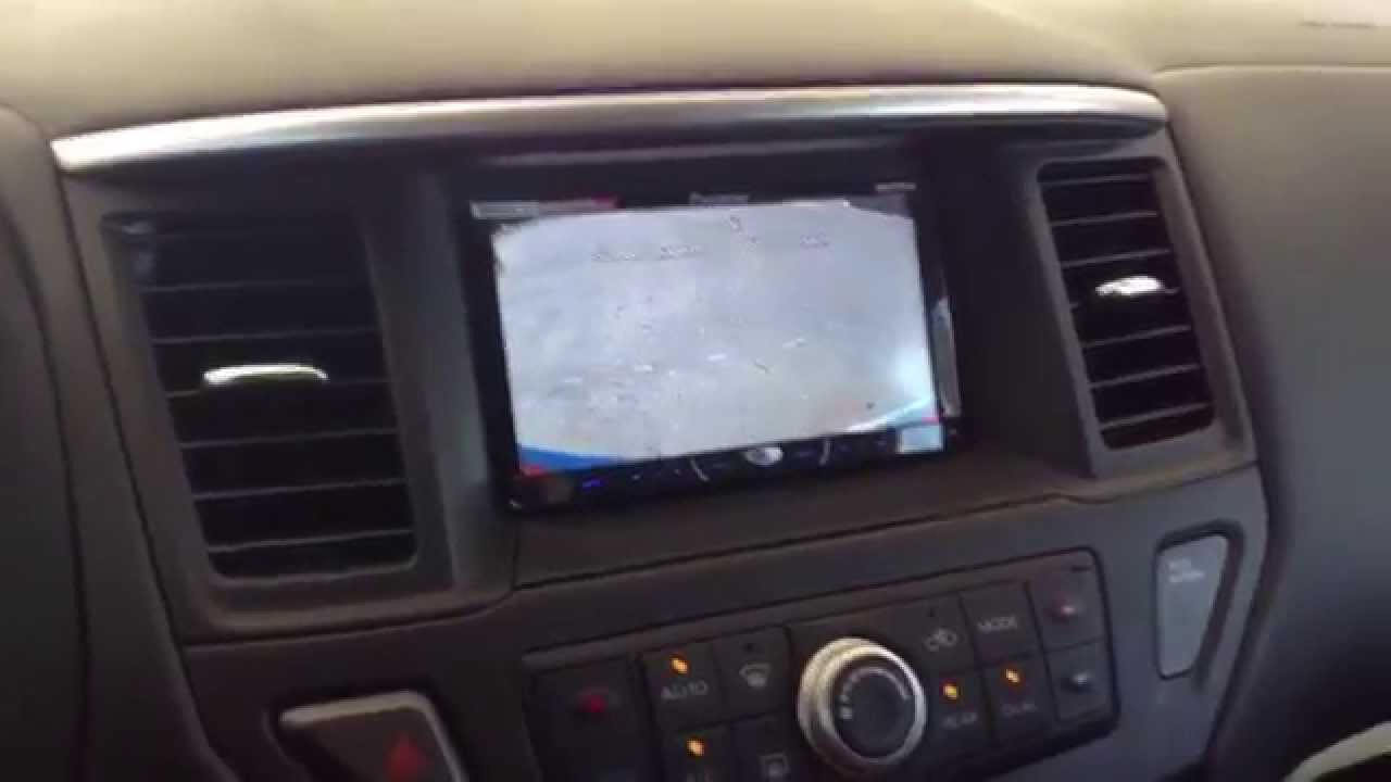 2014 Nissan Pathfinder Custom Double Din Dash By