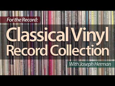 My Classical Vinyl Record Music Collection