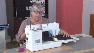 How to create gentle curves in your quilting designs on Fresh Quilting with Jacquie Gering (101-3)