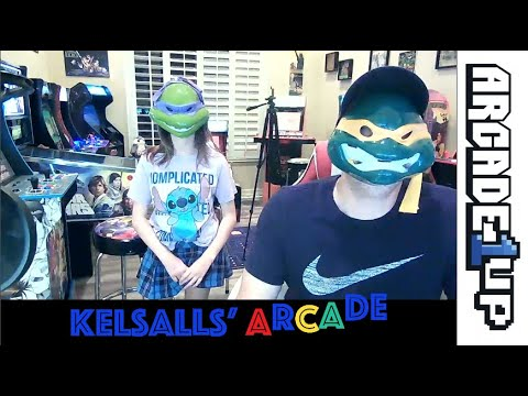 Arcade1up Teenage Mutant Ninja Turtles Cabinet Re Review with Extended Gameplay from Kelsalls Arcade