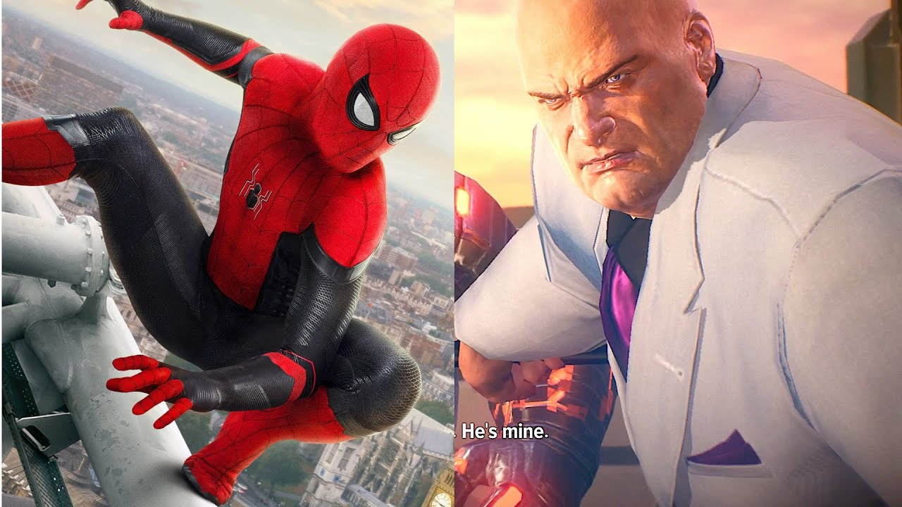 Spider Man Vs Kingpin(fisk) New Boss Fight - New marvel Avengers 2021