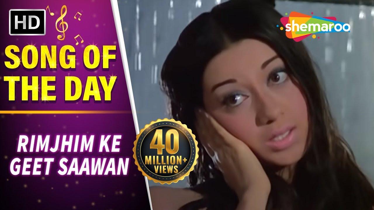 Download Rimjhim Ke Geet Saawan Gaaye (HD)   Anjaana Song   Rajendra Kumar   Babita