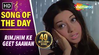 Rimjhim Ke Geet Saawan Gaaye (HD) | Anjaana Song | Rajendra Kumar | Babita