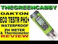 Oakton EcoTestr PH2+ Waterproof pH Meter Thermometer portable Tester - PRODUCT REVIEW
