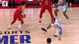Guo Ailun NASTY Crossover On Cody Martin | China vs Hornets | July 8, 2019 Summer League