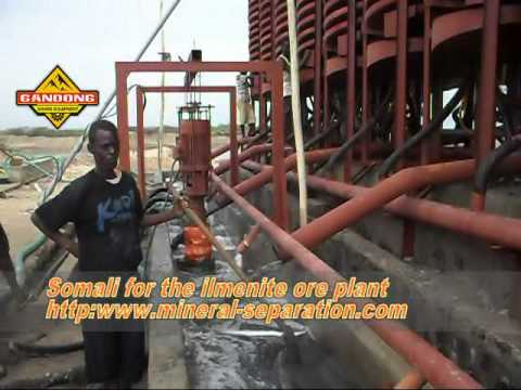 Ilmenite Ore Gravity Separation Plants