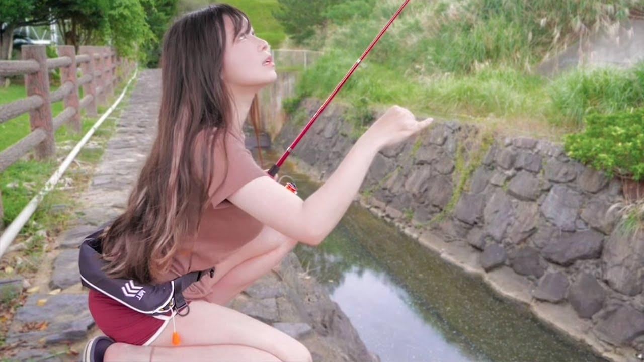 汗びしょで釣った「道端の魚」が夕飯になるまで。