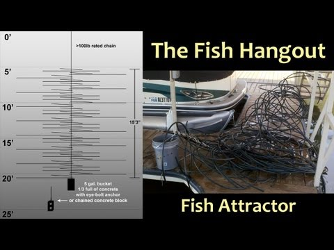 The Fish Hangout (fish Habitat, Fish Attractor, Crappie Condo)