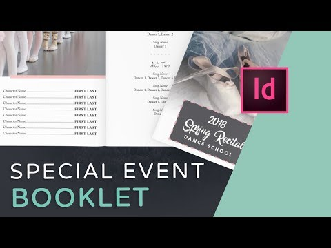 Let's Create An Event Program Booklet In InDesign