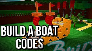 BUILD A BOAT FOR TREASURE CODES - September 2019 [Roblox]