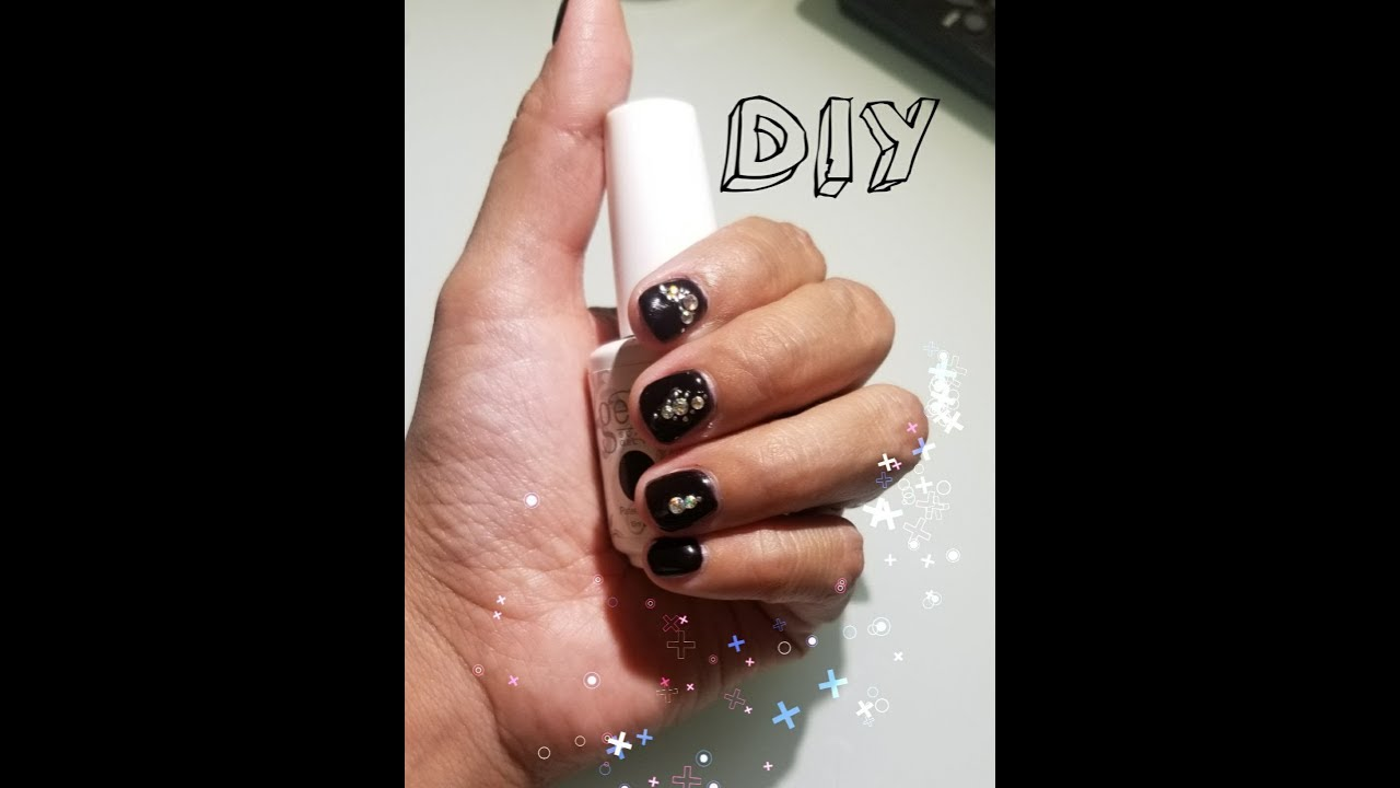 How To Harden Short Nails Gel Manicure Youtube