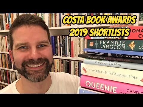 Costa Book Awards 2019 Shortlist Reaction