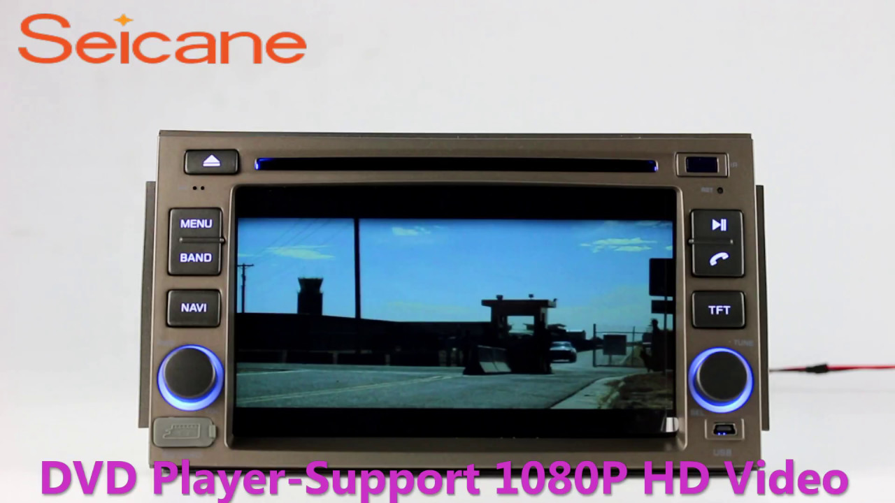 Aftermarket GPS cd dvd radio audio system for 20052011 HYUNDAI