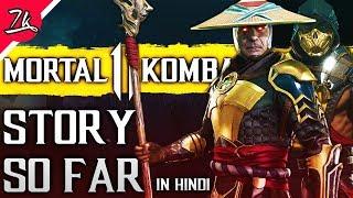 Mortal Kombat Story So Far before MK 11 in Hindi